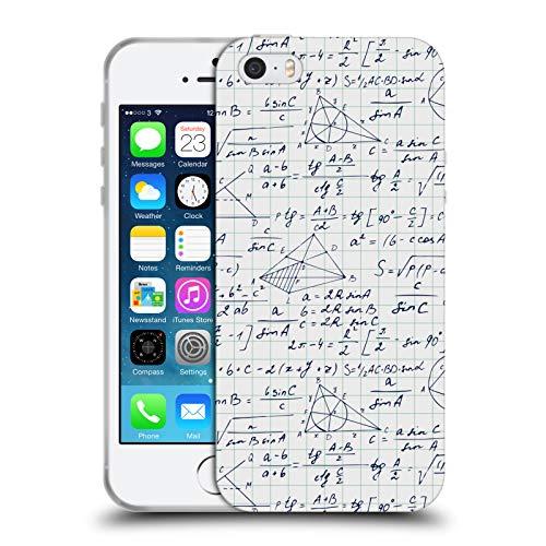 Head Case Designs Ufficiale Julia Badeeva Matematica Modelli Assortiti 3 Cover in Morbido Gel Compatibile con iPhone 5 iPhone 5s iPhone SE