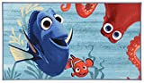 Disney Actionline Dory Tappeto, Materiale Sintetico, Multicolore, 80 x 140.0 x 0.72 cm