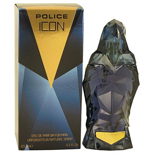 Police Icon par la police Colognes pour homme Eau de Parfum en flacon vaporisateur 4.2 Oz 124 ml