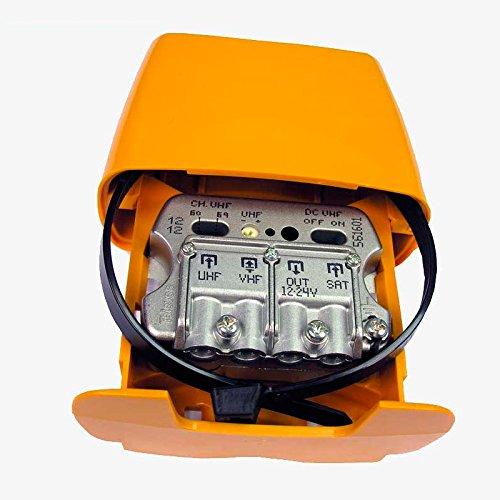 Antenne Verstärker für Hals mit Eingang für Parabolica Satelite 3e/1S uhf-vhfmix-fimix [DC] Televes 561620.