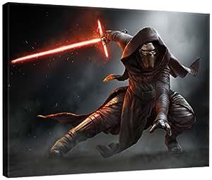 DELESTER DESIGN PPD1911O1 Star Wars VII Le Réveil de la Force Tableau d'Art Multicolore 100,0 x 3,0 x 75,0 cm