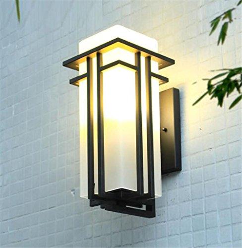 Platz 20 Licht Kronleuchter (Wandleuchten LED Aluminiumlegierung Metall Außenlampen & Wandlampen Hof Gang Platz Türrahmen Garten , M)