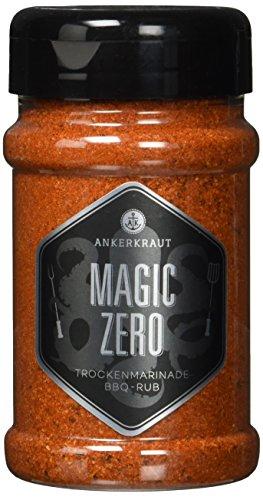 Ankerkraut Magic Zero, 230g im Streuer, BBQ-Rub OH...