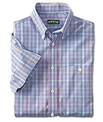 Orvis Pure Cotton Wrinkle-free Short-sleeved Shirt / Pure Cotton Wrinkle-free
