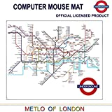 Transport for London, London Tube Map metropolitana Stampato Tappetino mouse del computer