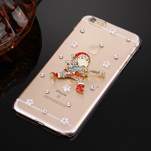 Phone case & Hülle Für IPhone 6 / 6s, Diamant verkrustete Sonnenblumen-Perlen-Bell-Muster-PC schützende Fall-rückseitige Abdeckung ( SKU : IP6G2010A ) IP6G2010L