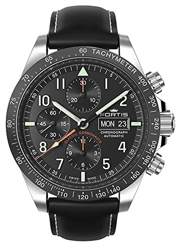 Fortis gents-wristwatch Classic Cosmonauts cronografo ceramica p.m. data...