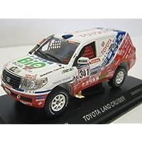 Model Car TOYOTA Land Cruiser 2010 Dakar Rally No. 341 (1/43 die