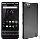 "BlackBerry Keyone Hülle, KingShark Ultradünn TPU Schutzhülle Flexibel Silikon Case Cover Handyhülle Slimcase Rückschale für BlackBerry Keyone (4,5"") - schwarz"