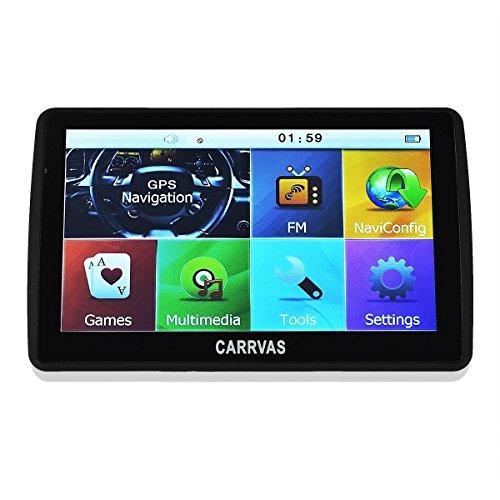 Neuste-Version-CARRVAS-70-Inch-LCD-Touch-Screen-Navigation-AutoKfz-Navigationsgert-GPS-Navigation-System-mit-neuesten-2016-Europa-und-UK-Karten-Untersttzt-TF-KarteFM-Transmitter-8GB-128MB