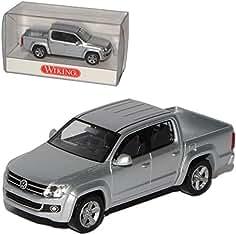Fertigmodell silber Modellauto Wiking 1:87 VW Amarok