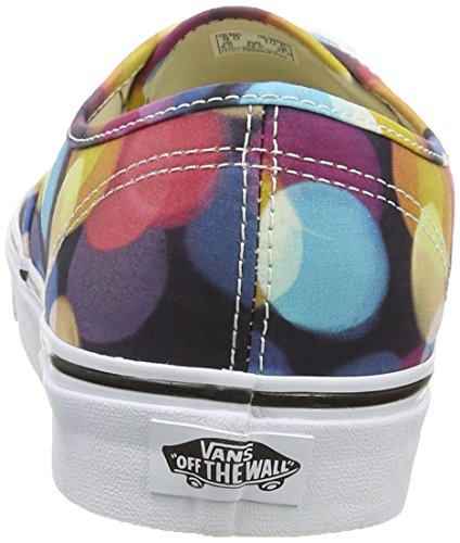 Vans Authentic, Sneakers Basses Mixte Adulte Multicolore (Flashing Lights/Black/True White)