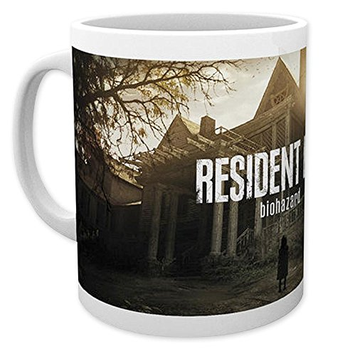 Close Up Resident Evil Tasse Biohazard Cover Art, aus Keramik Fassungsvolumen ca. 320ml