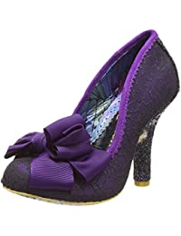 e99c575d0b87 Amazon.co.uk  Purple - Court Shoes   Women s Shoes  Shoes   Bags