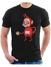 Men's Shirt Po City Before T Coffee Teletubbies Cloud 7 gOqYY