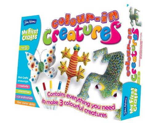 My First Crafts à colorier créatures