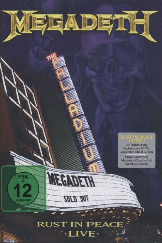 : Megadeth - Rust In Peace Live (+ Audio-CD) [2 DVDs] (Audio CD)