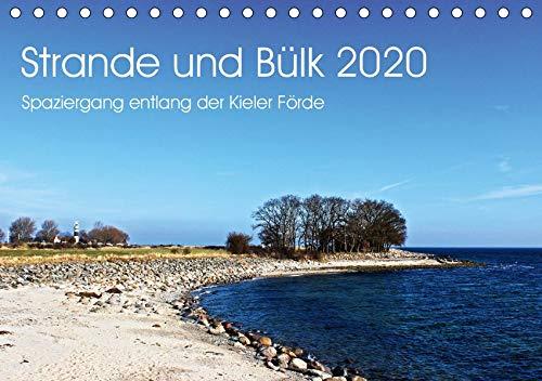 20 (Tischkalender 2020 DIN A5 quer): Spaziergang entlang der Kieler Förde (Monatskalender, 14 Seiten ) (CALVENDO Natur) ()