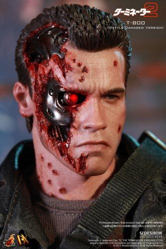 "[Movie Masterpiece DX] ""Terminator 2"" 1/6 scale figure T-800 (Battle Damage version) (second shipment) (japan import) 5"