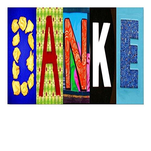 DigitalOase Dankeskarte Danksagung Danke Grußkarte Format DIN A4 A3 Klappkarte PanoramaUmschlag