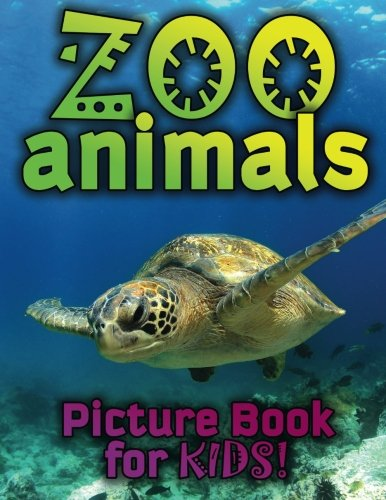 Zoo Animals Picture Book For Kids