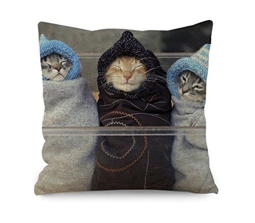 yinggouen-gatos-llevar-una-chaqueta-decorar-para-un-sofa-funda-de-almohada-cojin-45-x-45-cm