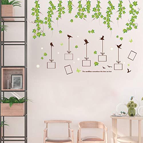 Kleine frische Wandsticker, warme Wanddekoration, selbstklebend Fotoblatt Extra groß -