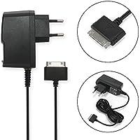 subtel® Cargador - 1.5m (2A / 2000mA) para Samsung GT-P1000 Galaxy Tab / GT-P7500 Galaxy Tab 10.1 / GT-P7510 Galaxy Tab 10.1 (5V / Samsung Connector (30 Pin)) Cable de carga negro