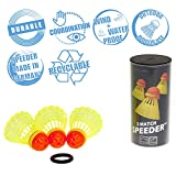 Speedminton MATCH Speeder - 3er Pack Speed Badminton/Crossminton original Wettkampfball inkl....