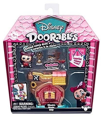 Famosa - Disney Doorables 14653D. Mini casa: Capitán Garfio.
