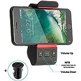 Kit Vivavoce Bluetooth per Auto Con Comandi Vocali, bluthoot per auto, GPS e Musica, Auto vivavoce bluetooth, supporto da auto per iPhone 8 Plus 7 Plus 6 S Plus Galaxy S8 Edge S7 S6 note 5 4 3 Ne