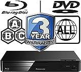 Panasonic DMP-BD83EB-K Smart Network Blu-ray Disc Player - MultiRegion For DVD Playback