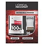 L'Oreal Men Expert Invincible Power Set mit Duschgel und Deodorant