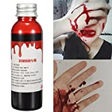 Bluelover Blut-Effekt Make-Up Liquid Halloween Stütze Stage Streich Theatral Vampire Cosplay Kosmetik