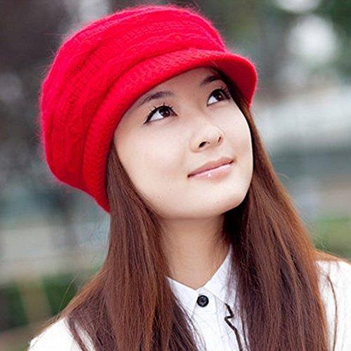 Chapeau Chapeau Femme Chapeau Tricot Chapeau Automne Hiver Ms ( couleur : B ) B