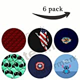 Multi-Function Mounts and Stands Pop Grip Socket for Smartphone Gift(R146) american eagle,america,aluminum foil in red,alien,8 bit stitch