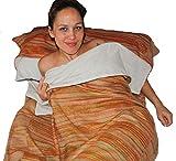 Die Original-Fair-Trade-tibetischen Yak Wolle Woll-Schlafsack (Multicolour (Baumwolle gefüttert))