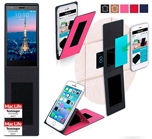 reboon ZTE Blade Vec 4G Hülle Tasche Cover Case Bumper | Pink | Testsieger