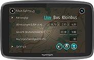 TomTom GO Professional 6250 Navigationsgerät (für LKW, Reisebusse und Transporter, 15-cm-Display, Höhen- und Gewichtsbeschrä