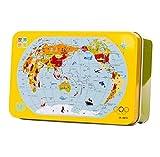 60 Stück schöne Holz Eisen Box Puzzles Dekompression Puzzles Spielzeug / Geschenk-Karte B