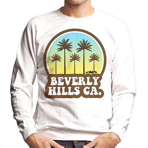 Coto7 Beverly Hills California 70s Beach Drive Men's Sweatshirt
