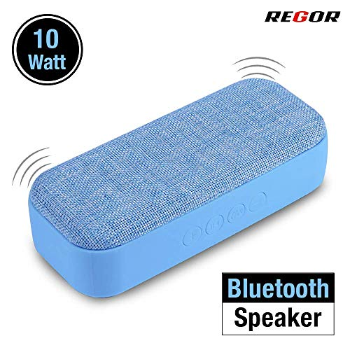 Regor 10 Watt Stereo Bluetooth Speaker for Mobiles, Tablets and Laptops