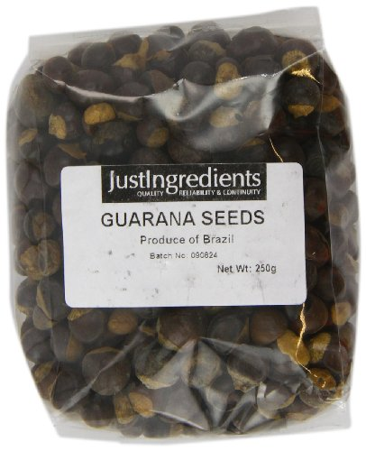 JustIngredients Guaraná-Samen, Guarana Seeds, 1er Pack (1 x 250 g)