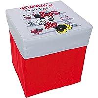 Preisvergleich für Small Foot Company 9198 - Spieltruhe - Minnie Mouse, Sitzhocker