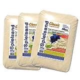 MGS SHOP 75kg Spielsand Quarzsand TÜV geprüft TOP Qualität 0-2 mm Sandkasten (ohne Schaufel)