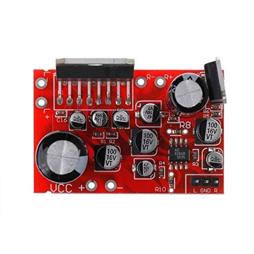 Peanutaoc DC 12 V TDA7379 38 W + 38 W Stereo-Verstärkerplatine AD828 Preamp Super Than NE5532