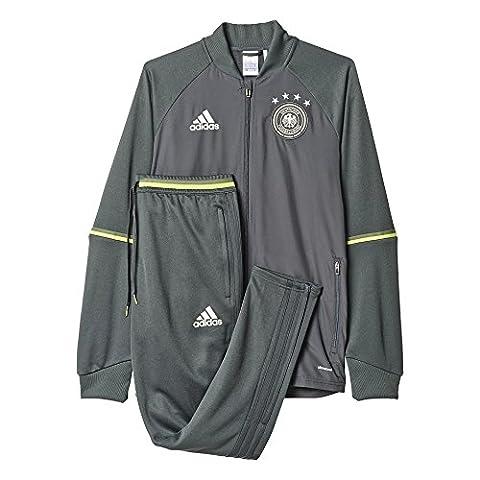 adidas Herren Trainingsanzug UEFA EURO 2016 DFB, grau, XS,