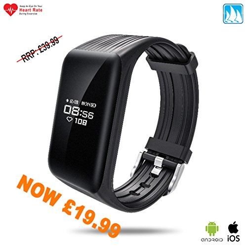 New Model 2017 ATB K1 Fitness Tracker Heart Rate Monitor Sleep Monitor Waterproof Training Plan Running Health Fatigue Exercise Step Daily Goals