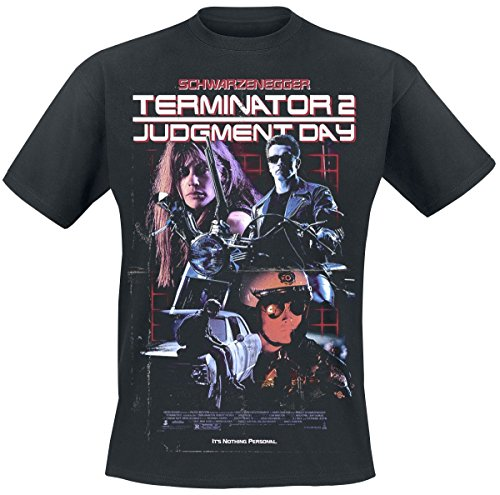 Terminator 2 Judgment Day Poster T-Shirt - S to 3XL