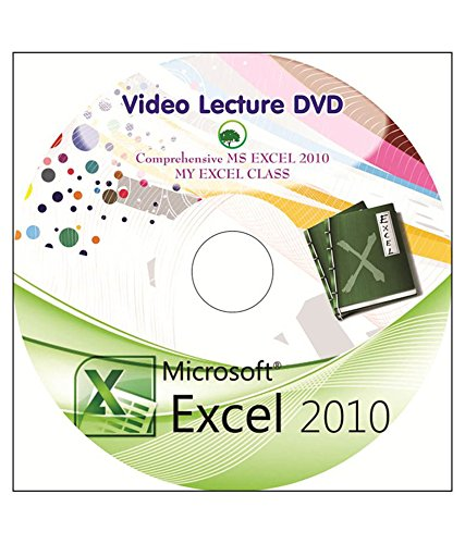 Comprehensive MS EXCEL 2010 video lecture DVD (myexcelclass16)  available at amazon for Rs.750